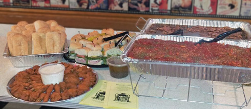 Let Round Lake Olando's cater your next party!